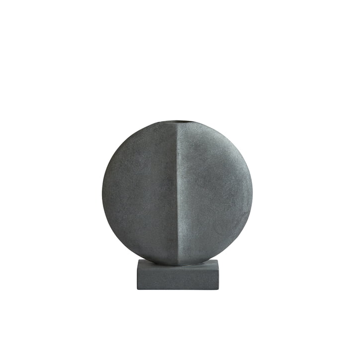 The Guggenheim Vase Mini from 101 Copenhagen in dark grey