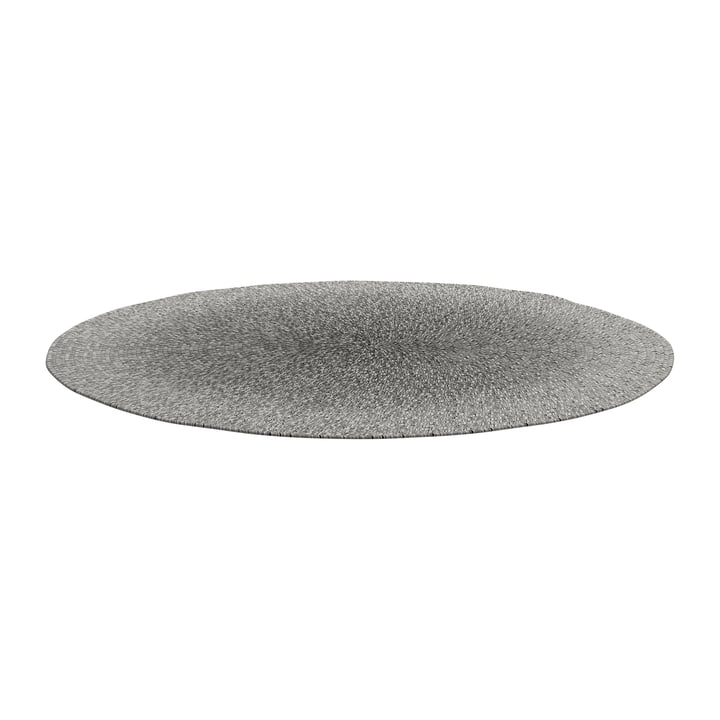 The Deco carpet Outdoor from Gloster , Ø 140 cm, pewter ombre