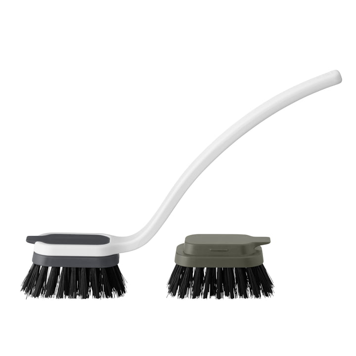 The Sink-Caddy Sink brush from Rig-Tig by Stelton , grey