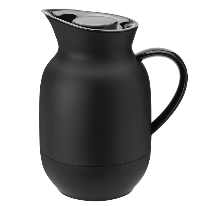 The Amphora coffee insulated jug from Stelton , 1 l, soft black
