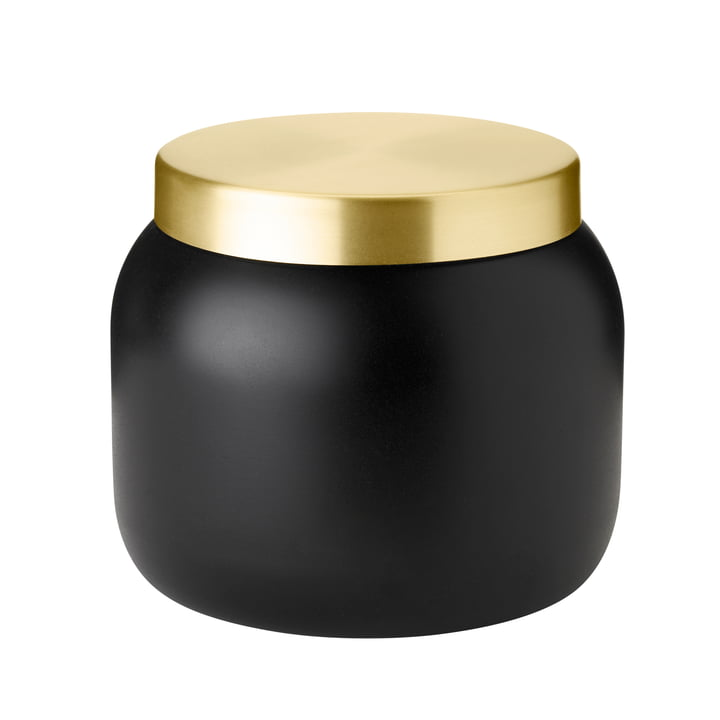 The Collar ice bucket from Stelton , 1. 8 l, black / gold