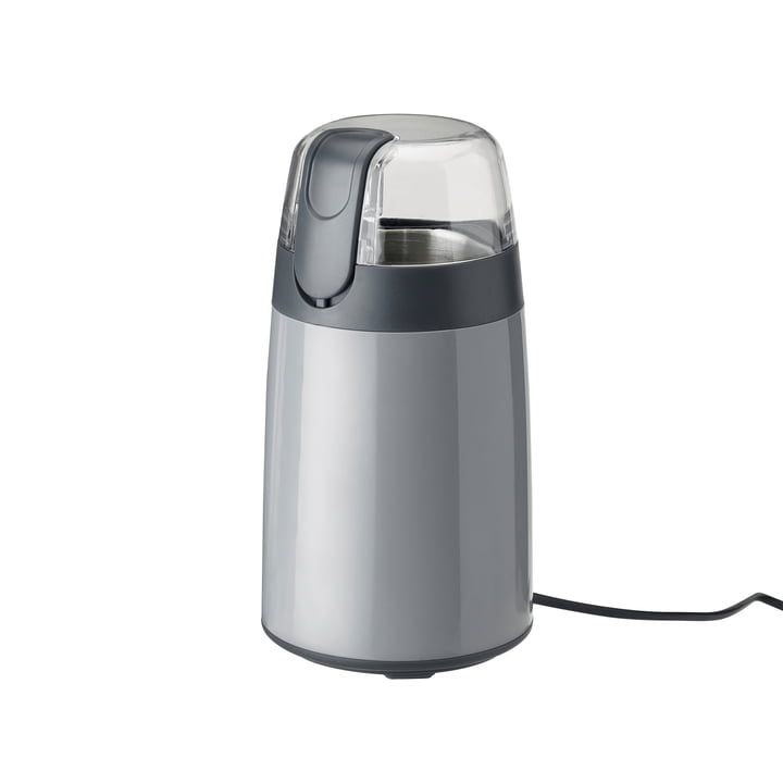The Emma coffee grinder from Stelton in grey