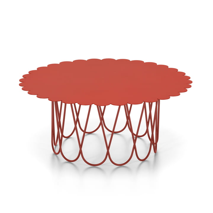 Flower Table large, red from Vitra