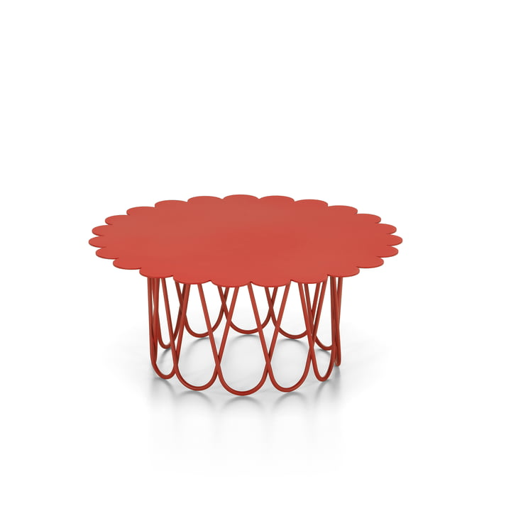 Flower Table small, red from Vitra