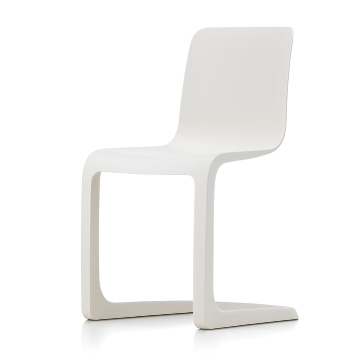 EVO-C All-plastic chair, ivory from Vitra