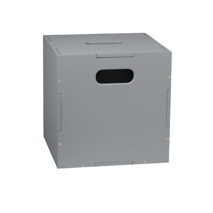 The Cube Storage box with wheels from Nofred , grey