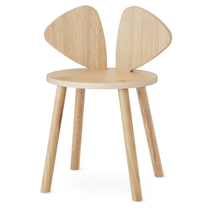 The Mouse School chair from Nofred , oak matt lacquered
