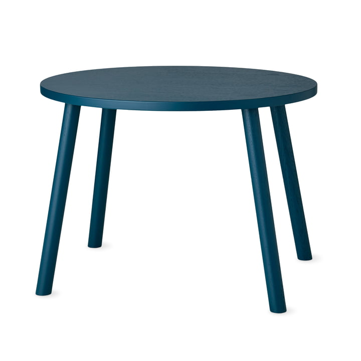 Mouse Children's table oval 64 x 46 cm from Nofred in petroleum