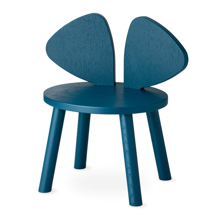 Mouse Children's chair from Nofred in petroleum