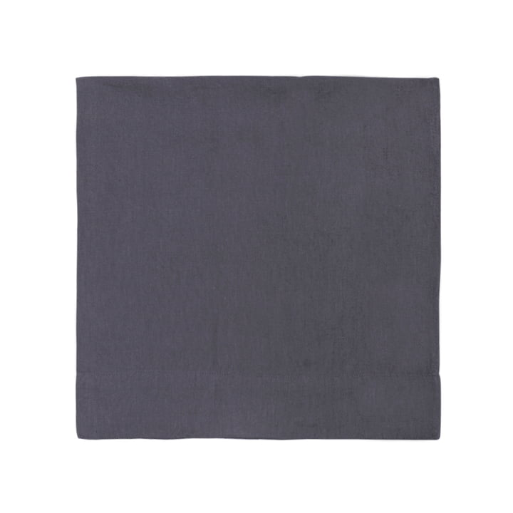 Connox Collection - Linen tablecloth 150 x 250 cm, dark grey