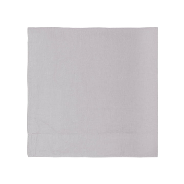 Connox Collection - Linen tablecloth 150 x 250 cm, light grey