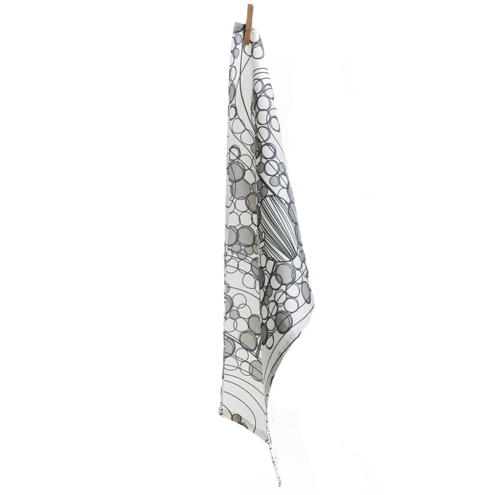 Tea towel, Forest grey by Born in Sweden