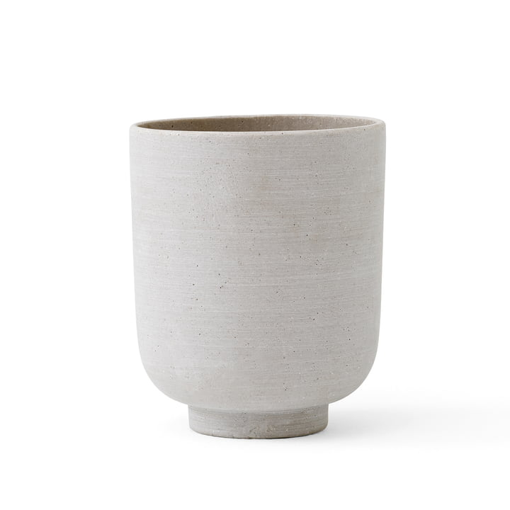 The Collect SC70 Flowerpot M from & Tradition, Ø 15 cm, silver
