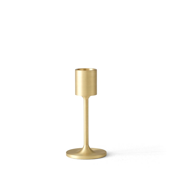 The Collect SC57 candle holder from & Tradition, h 11 cm, brass
