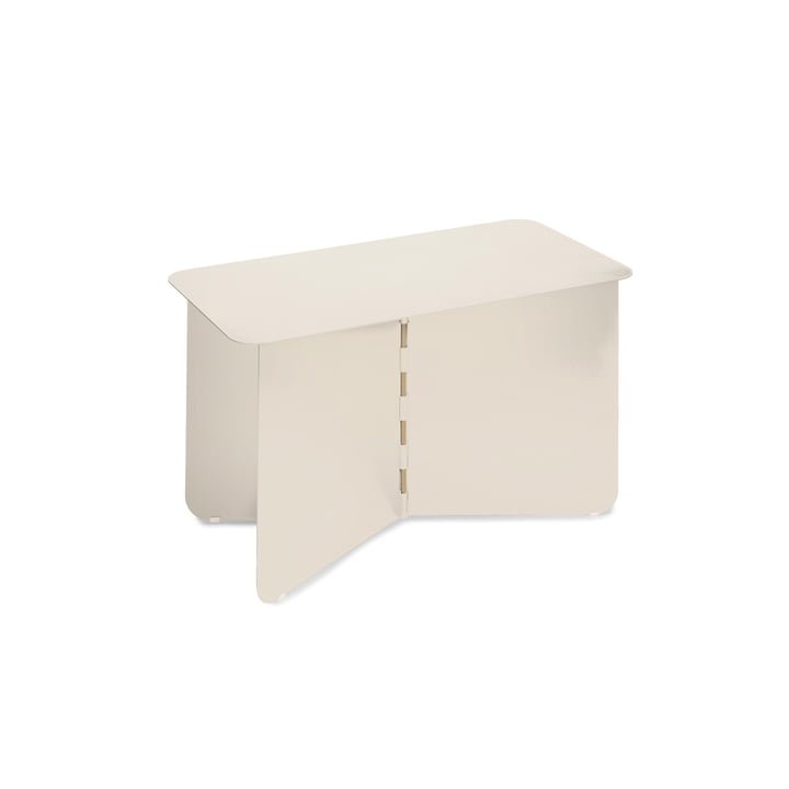 Hinge Side table large, cream from Puik