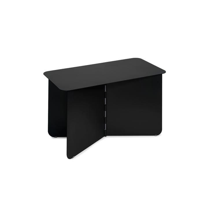 Hinge Side table large, black from Puik