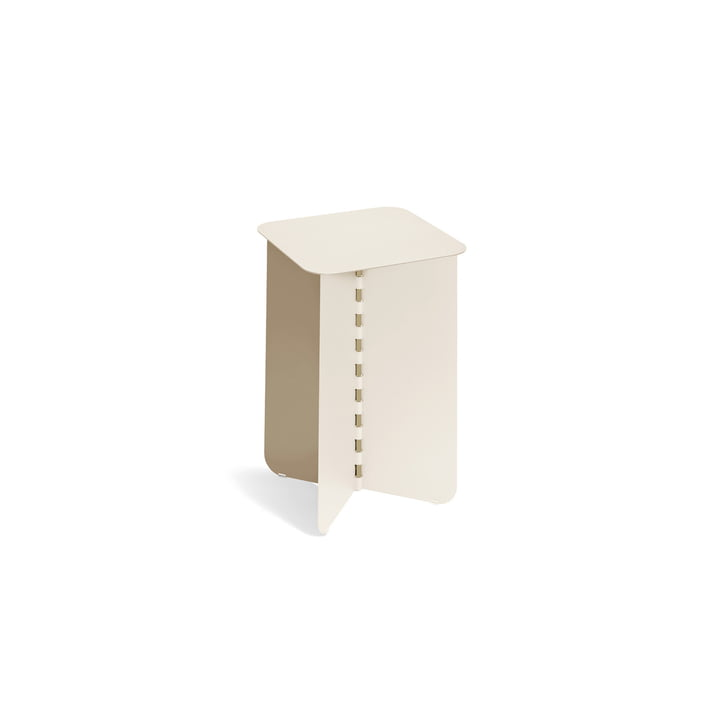 Hinge Side table small, cream from Puik
