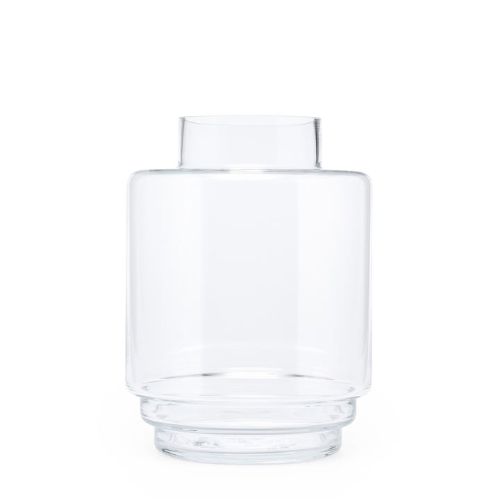 Monday Vase H 23 cm, transparent from Puik