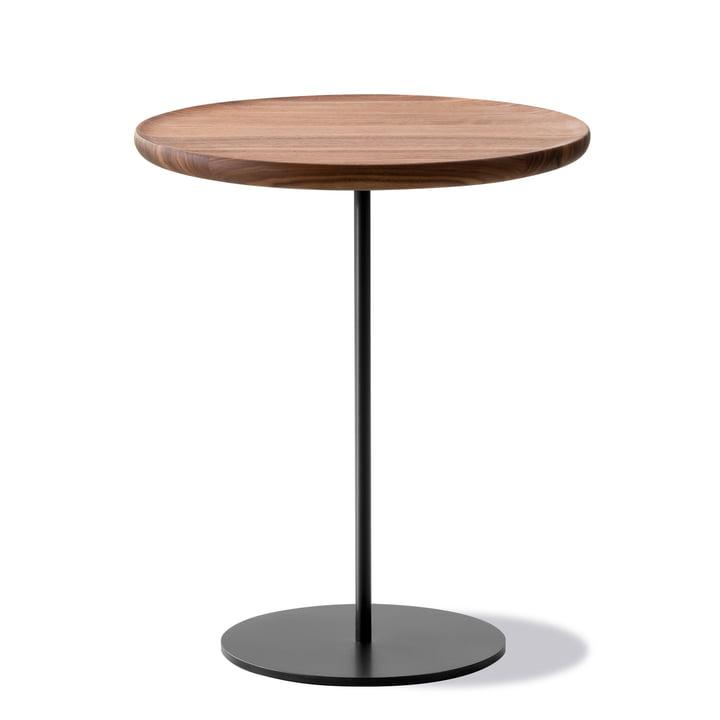 Pal Side table Ø 44 cm H 45 cm by Fredericia in walnut / black