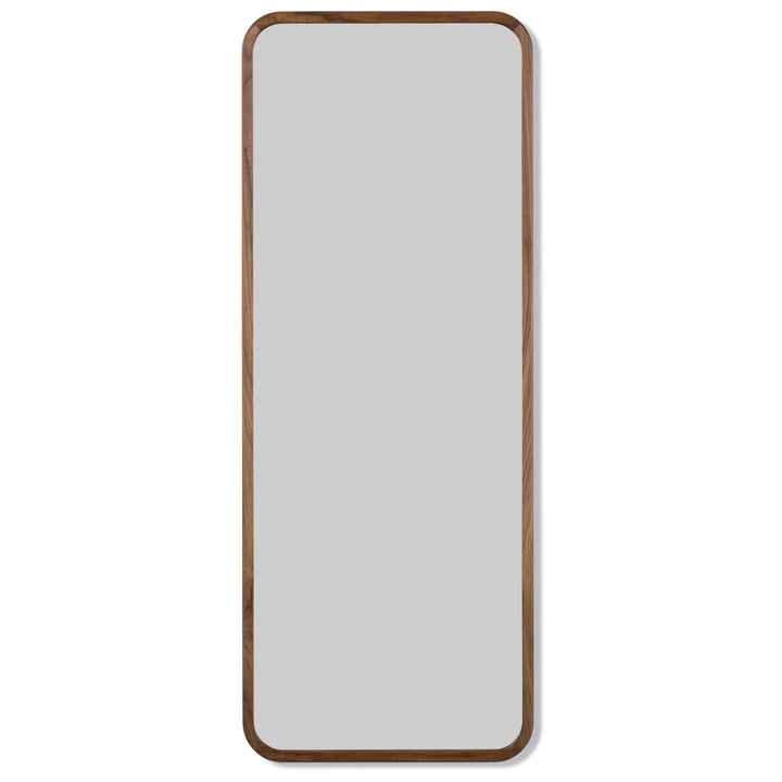 Silhouette Mirror 70 x 180 cm from Fredericia in walnut oiled
