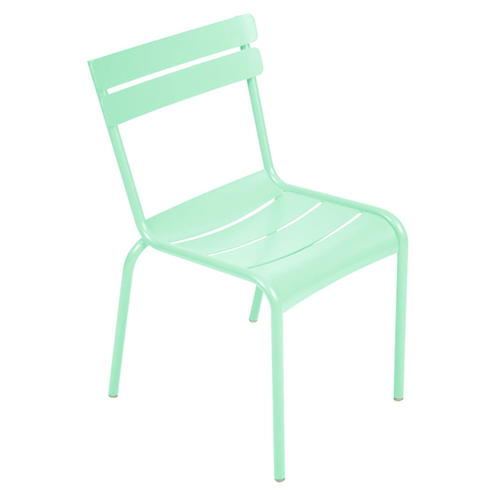 The Luxembourg Chair from Fermob, opal green