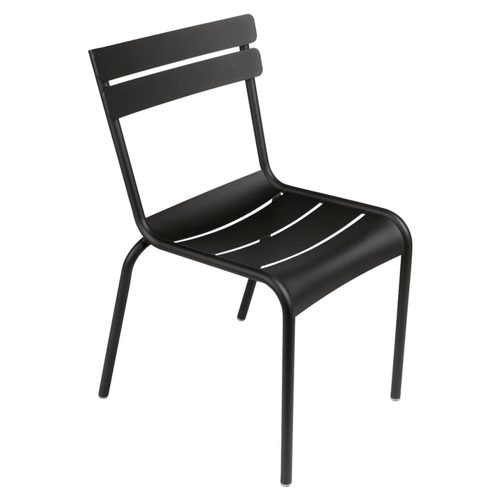 The Luxembourg Chair from Fermob, licorice