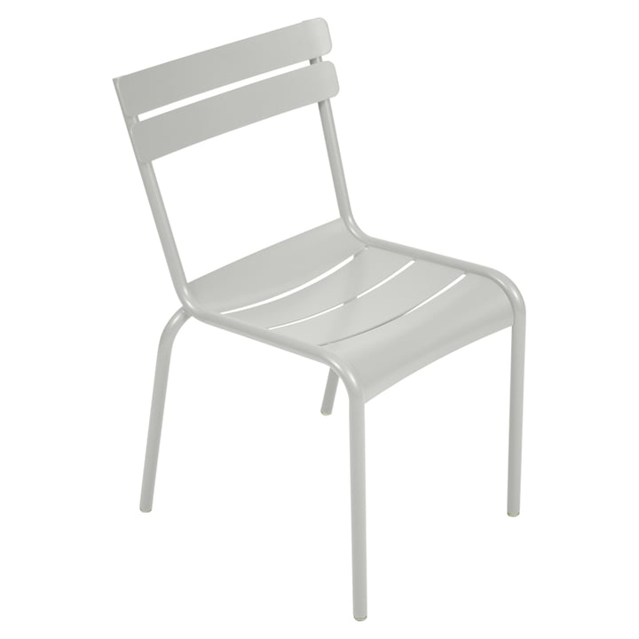 The Luxembourg Chair from Fermob, metal grey