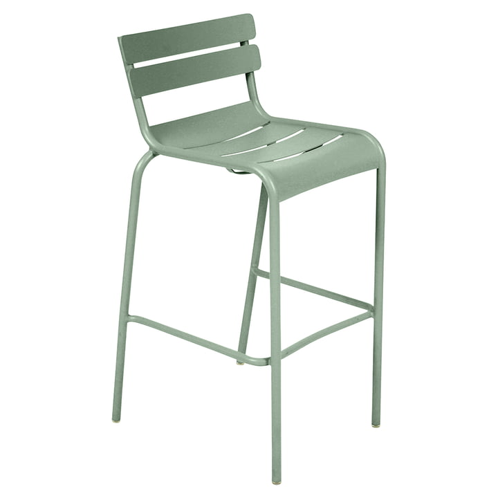 The Luxembourg Bar stool Stackable by Fermob, H 78 cm, cactus