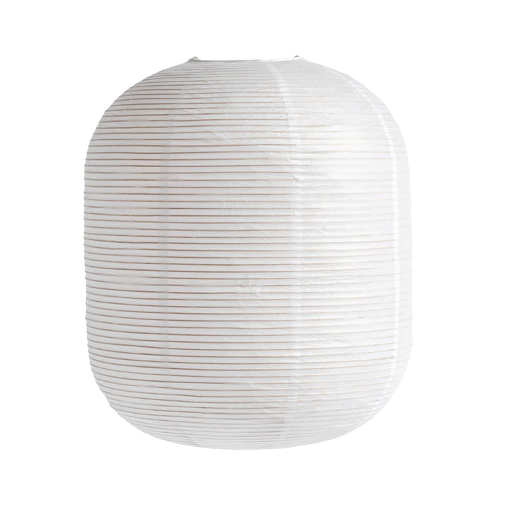 The Rice Paper Shade from Hay , H 50 x Ø 42 cm, oblong, white