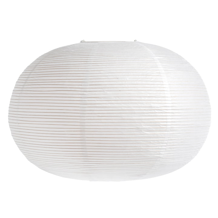 The Rice Paper Shade from Hay , H 48 x Ø 70 cm, Ellipse, white