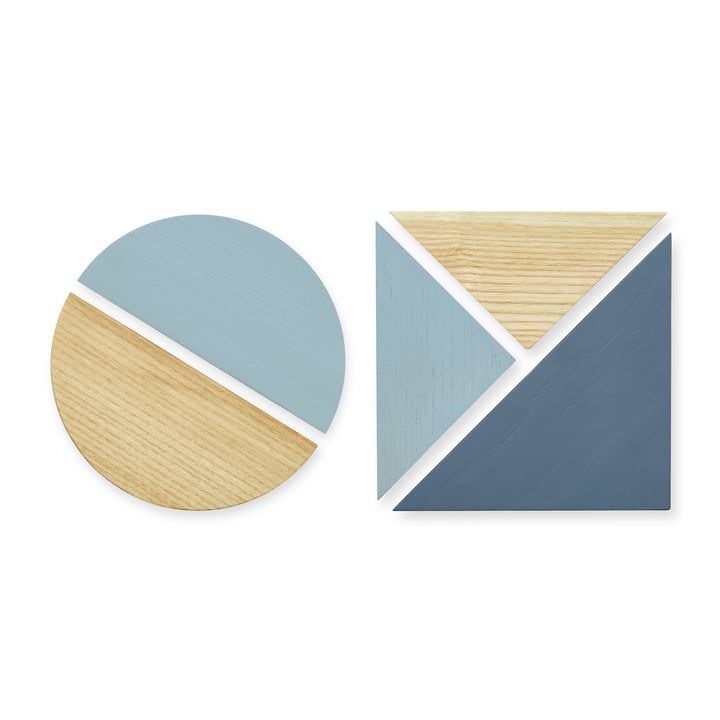 The magnets for pinboard from Nofred , blue