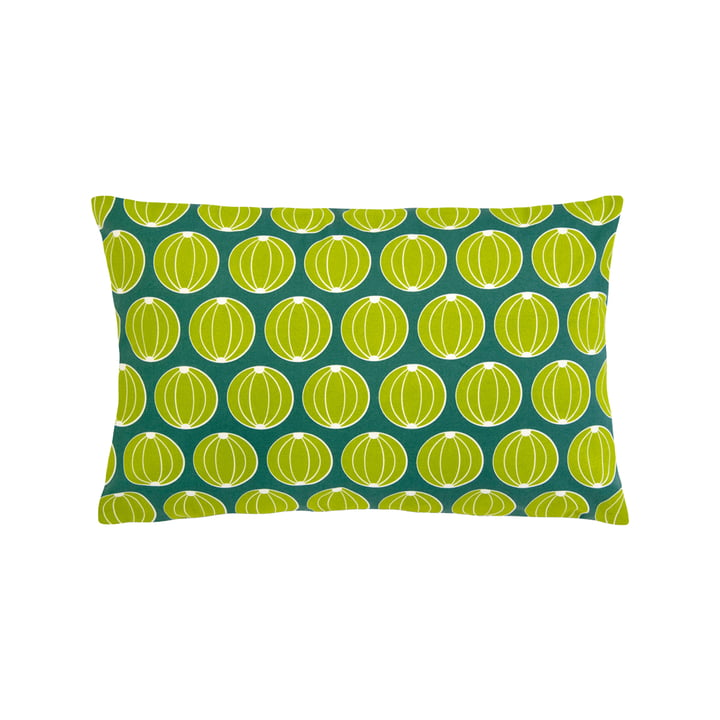 The Melons cushion by Fermob, 44 x 68 cm, jade green