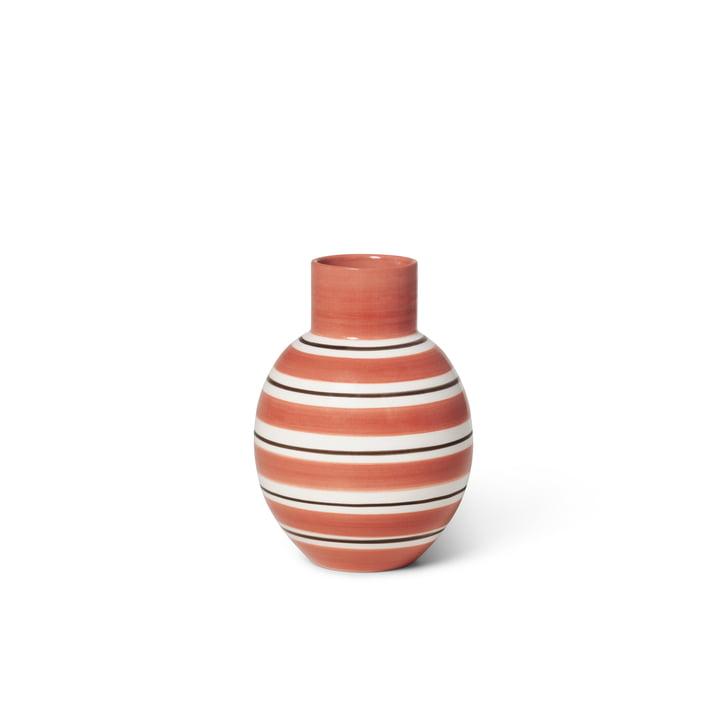 The Omaggio vase from Kähler Design, h 14.5 cm, terracotta