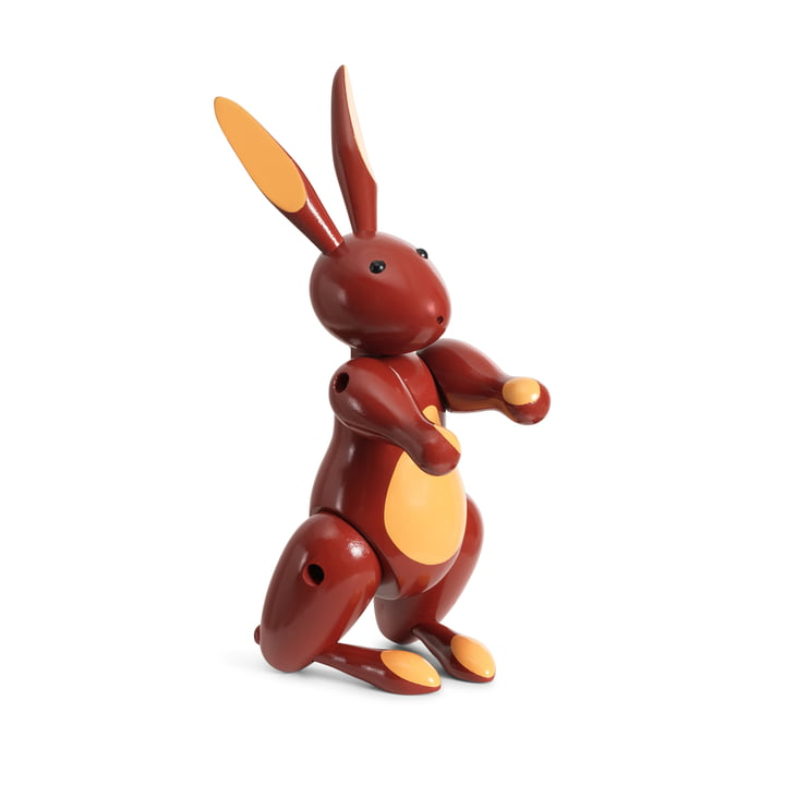 The wooden rabbit from Kay Bojesen , red