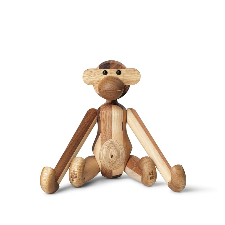 The wooden monkey small from Kay Bojesen , Reworked Anniversary Edition