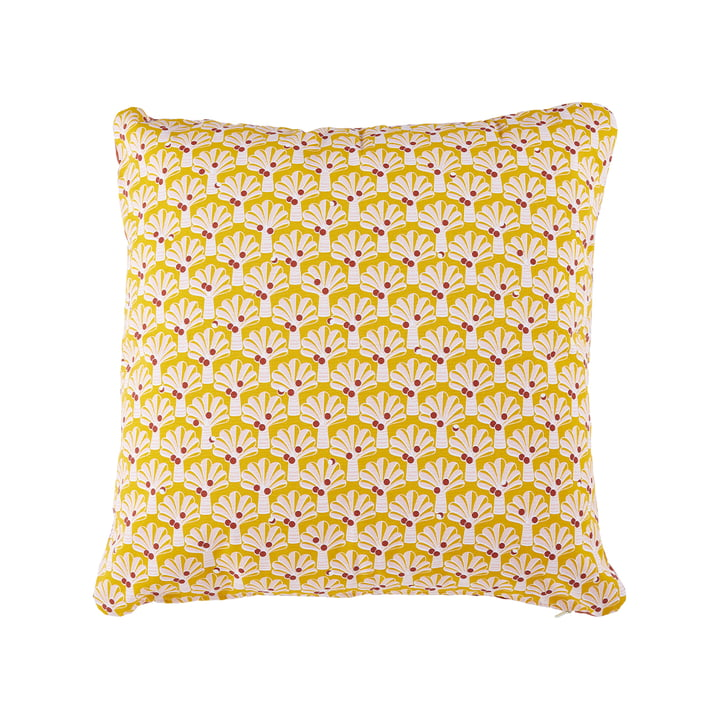 The Cocotiers outdoor cushion by Fermob, 70 x 70 cm, honey