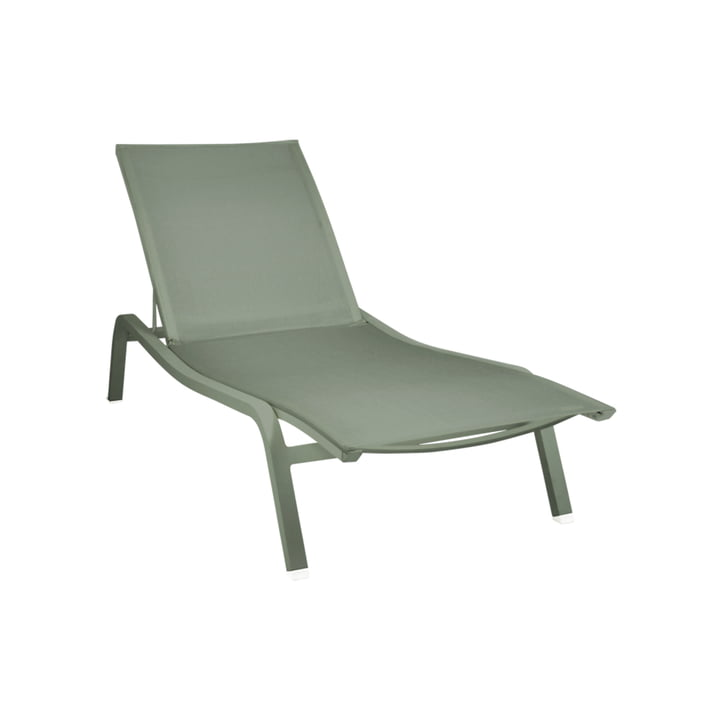 The Alize sun lounger XS by Fermob, cactus