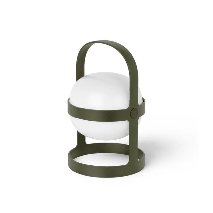 The Soft Spot Solar battery lamp from Rosendahl , H 18,5 cm, olive green