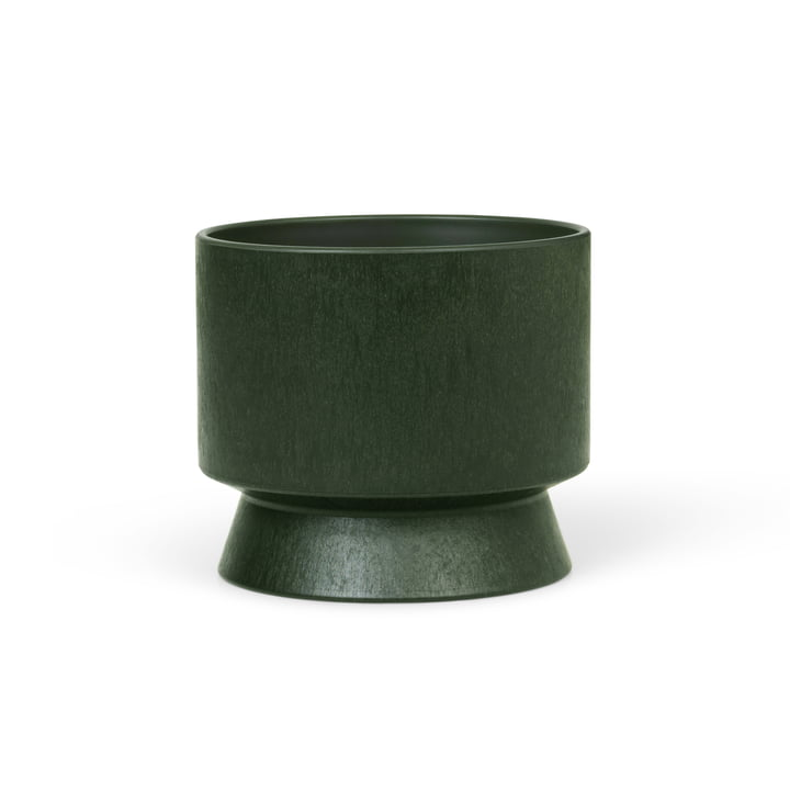 The planter Recycelt from Rosendahl , Ø 12 cm, dark green