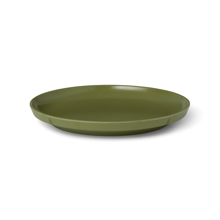 The Grand Cru Take plate from Rosendahl , Ø 19,5 cm, olive green (set of 2)