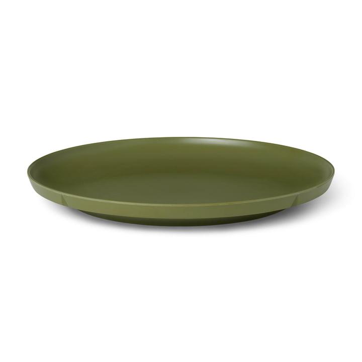 The Grand Cru Take plate from Rosendahl , Ø 26 cm, olive green (set of 2)
