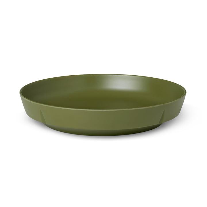 The Grand Cru Take plate from Rosendahl , Ø 21,5 cm, olive green (set of 2)