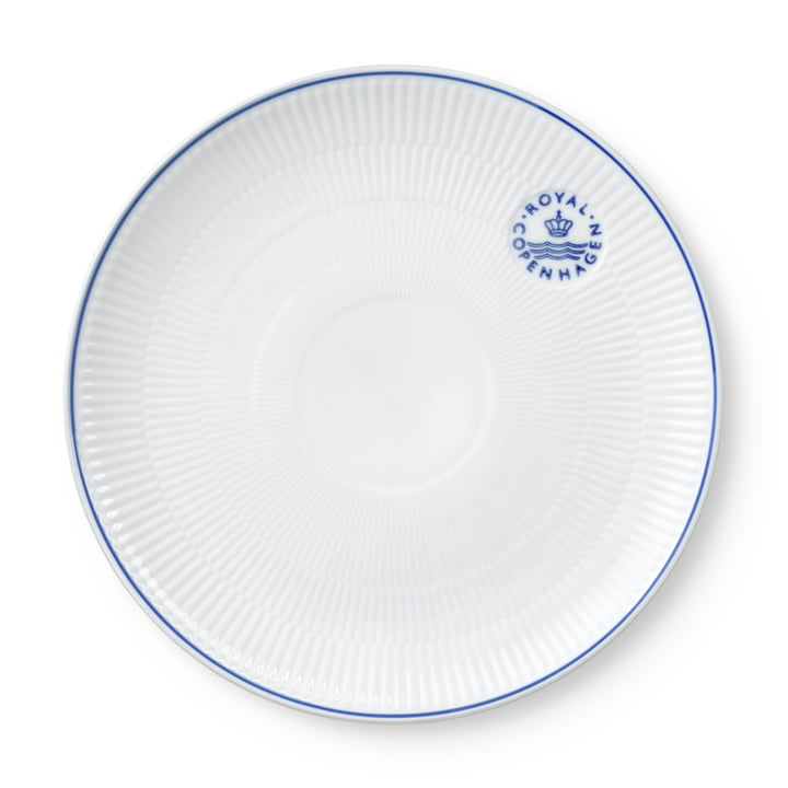 The Blueline Coupe plate from Royal Copenhagen , 27 cm