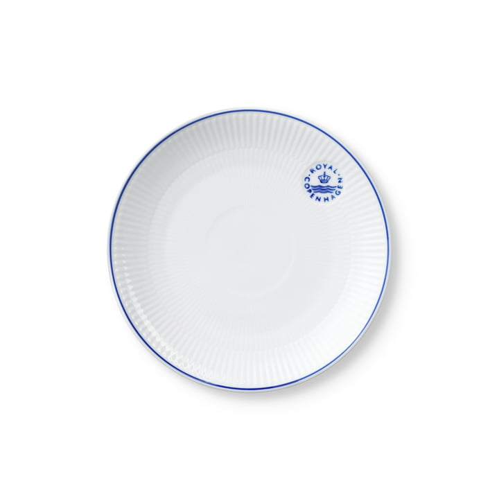 The Blueline Coupe plate from Royal Copenhagen , 19 cm