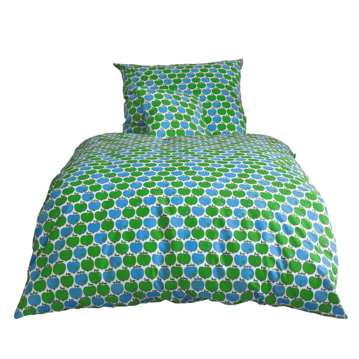 byGraziela - Apple bed linen, blue / green