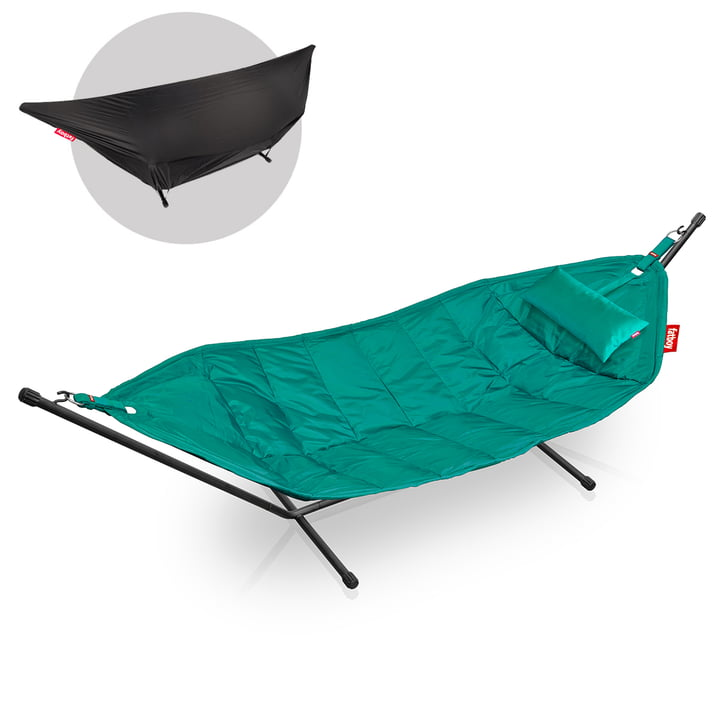 The Headdemock Deluxe Hammock from Fatboy , turquoise