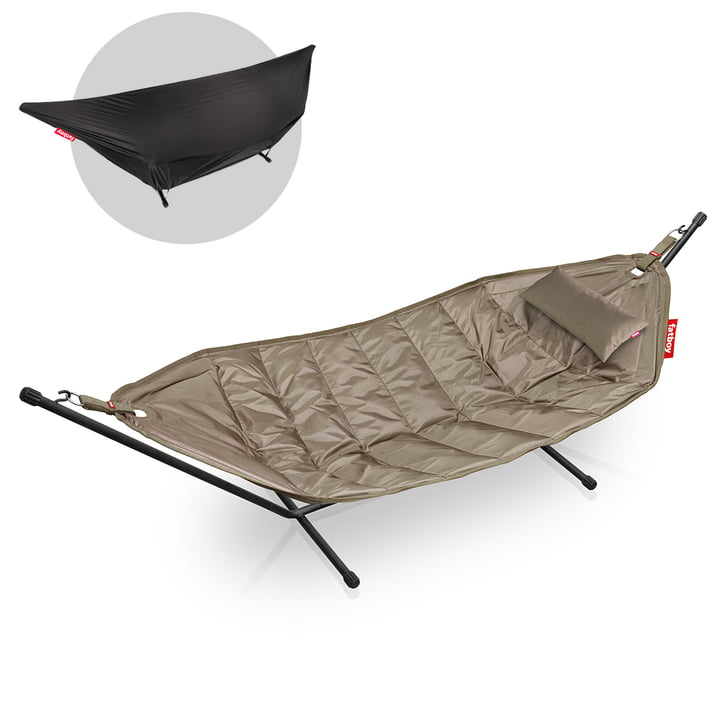 The Headdemock Deluxe Hammock from Fatboy , taupe