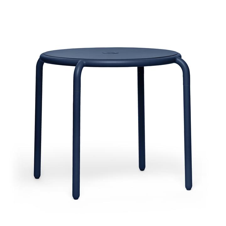 The Toní bistro table from Fatboy , Ø 80 x H 76 cm, dark ocean