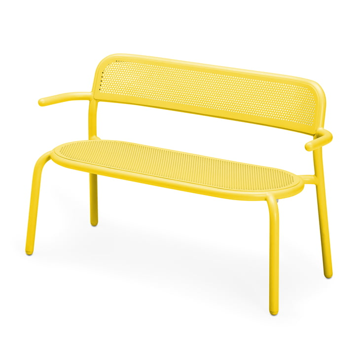 The Toní bench from Fatboy , lemon