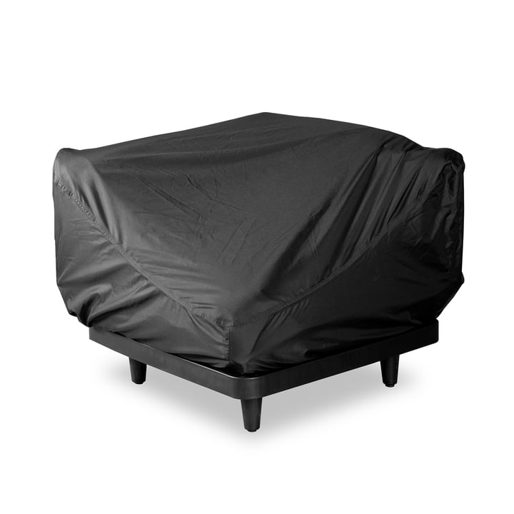 The protective cover for Paletti sofa (1-seater) from Fatboy , black (1-seater)